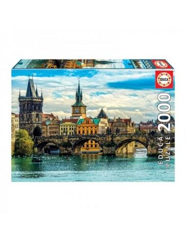 Puzzle De 2000 Piezas Vista De Praga De