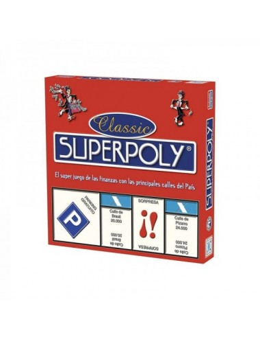 Juego De Mesa Falomir Superpoly 1505