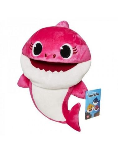 Mummy Shark Marioneta Cantarina