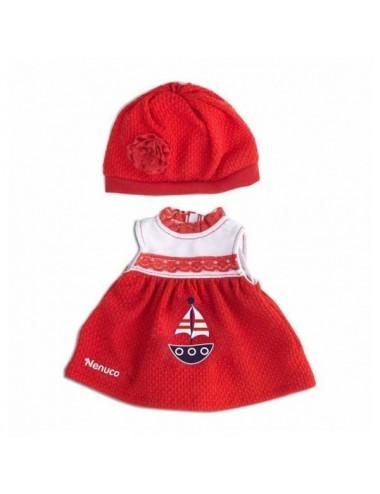 Nenuco Ropita 35Cm Modelo D Vestido Rojo