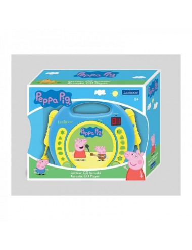 PEPPA PIG RADIO CD CON BLUETOOTH