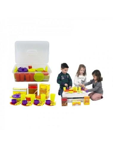Maletín 34 Piezas Menaje De Vicam Toys