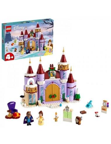 Celebración Invernal En El Castillo Lego
