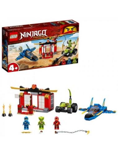 Batalla En La Caza Supersónico Lego 7170