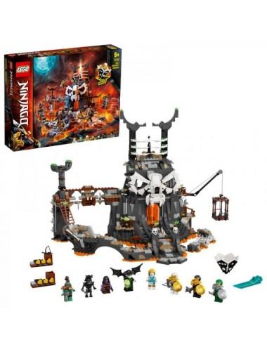 Mazmorras Del Brujo De Los Muertos Lego