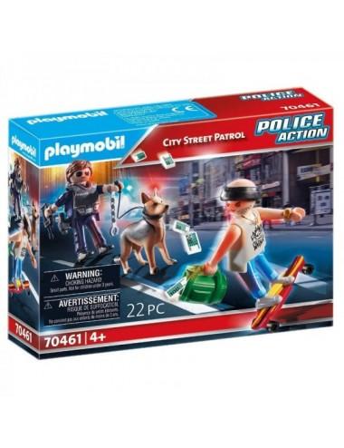 Patrulla Callejera De Playmobil
