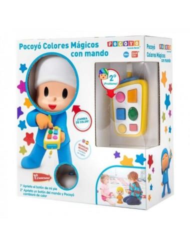 Muñeco Pocoyo Colores Mágicos Con Mando