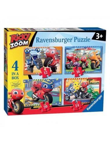 Ricky Zoom Puzzle 4 In A Box De Ravensbu