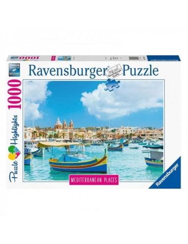 Puzzle Ravensburger Malta Mediterránea D