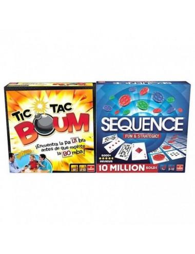 Pack 2 Juegos De Mesa  Tic Tac Boum & S