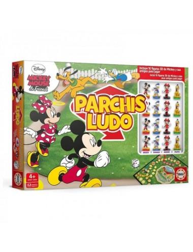 Parchís Figuras 3D Mickey Y Amigos De Ed