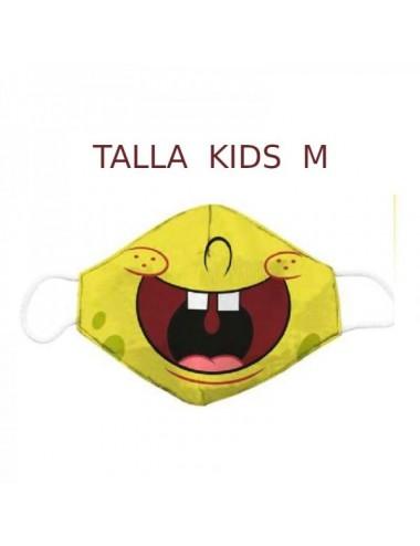 Bob Esponja  Mascarilla Kids Talla M