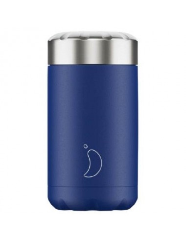 TERMO SOLIDOS CHILLYS MATE AZUL 500ML