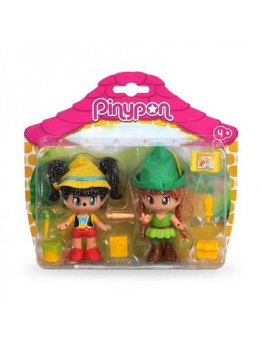 Pack De 2 Figuras De Pinypon Pinocho Y P