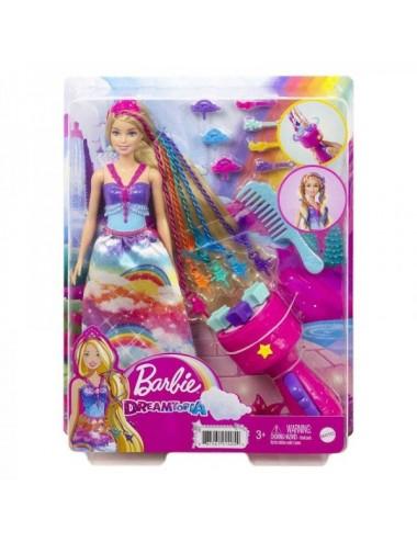 Barbie Trenzas De Colores Mattel