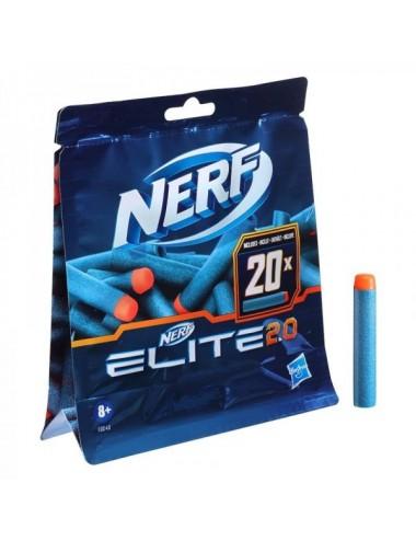 Nerf Elite 20 20 Dardos De Hasbro