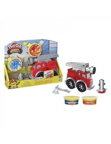 Play Doh Mini Camión De Bomberos Hasbro