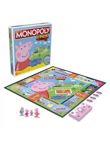 Juego De Mesa Monopoly Junior Peppa Pig