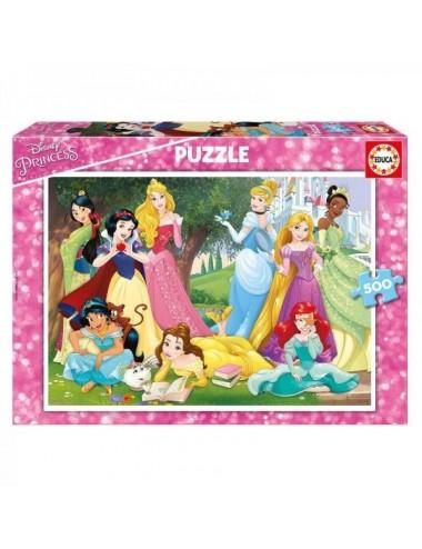 """Puzzle De 500 Piezas """"Princesas Disney"""""""