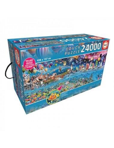 Puzzle De 24000 Piezas