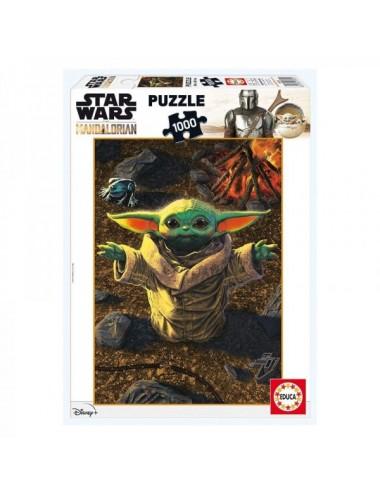 Puzzle De 1000 Piezas De Baby Yoda Y The