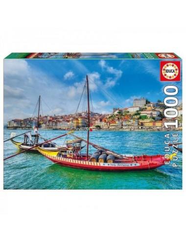 Puzzle De 1000 Piezas De Barcos Rabelos