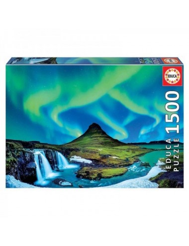 Puzzle De 1500 Piezas Aurora Boreal En I