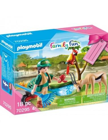 Set Zoo De Playmobil