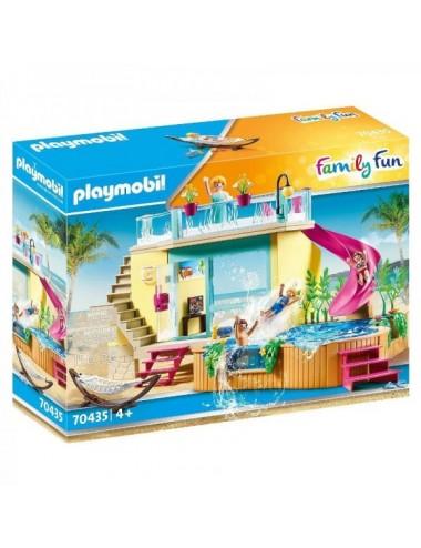 Bungaló Con Piscina De Playmobil