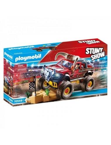 Stuntshow Monster Truck Horned De Playmo
