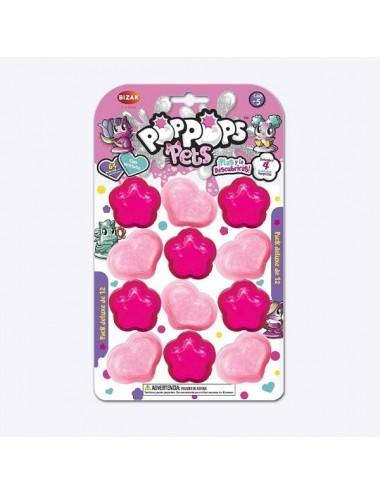 Un Pack De 12 Burbujas Deluxe De Pop Pop