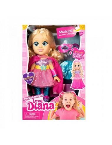 Muñeca Love Diana Vestido PrincesaSuper