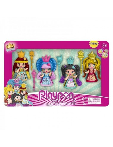 Pinypon Queens 4 Figuras De Famosa