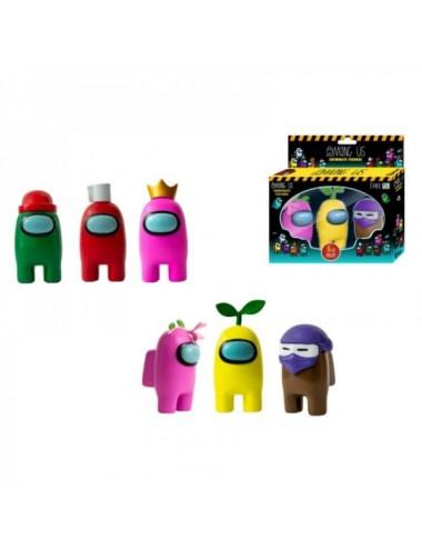 Pack De 3 Figuras De Los Among Us (1 Uni
