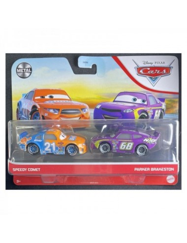 PACK 2 COCHES CARSSPEEDY&PARKER