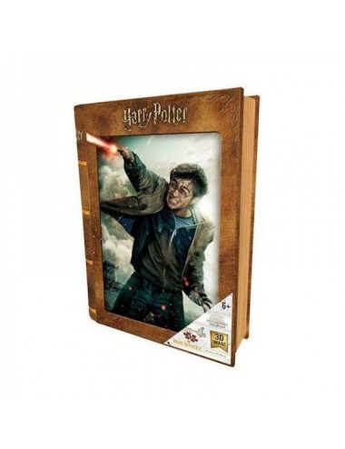 Puzzle 3D Diseño Libro Harry Potter Bata
