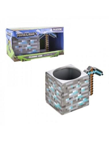 Taza 3D Pickaxe Minecraft 350Ml