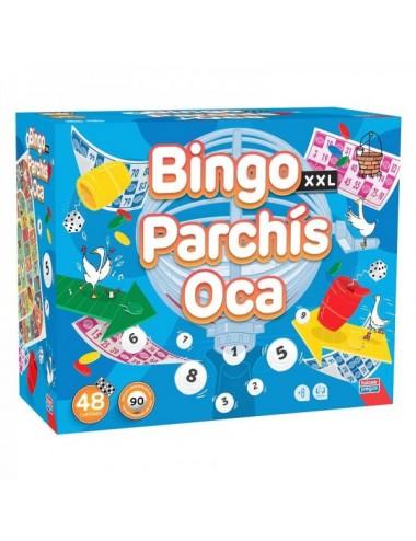 Bingo Xxl Premium + Parchís + Oca De Fal