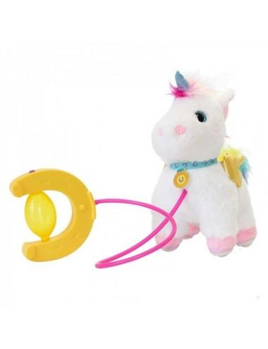 Peluche Unicornio Sprint Con Sonidos De