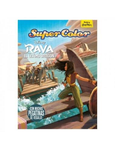 RAYA Y EL ULTIMO DRAGON SUPERCOLOR