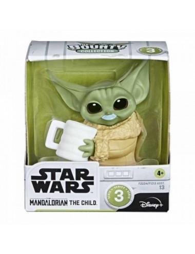 Baby Yoda Bigote De Leche Azul Star Wars