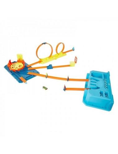 Caja De Pistas Hotwheels Mattel
