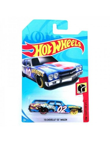 Hot Wheels Daredevils 70 Chevelle Ss Wag