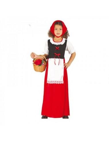 Disfraz Pastorcita Roja 79 Años