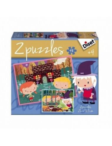 Puzzle Contes La Casita De Chocolate 48