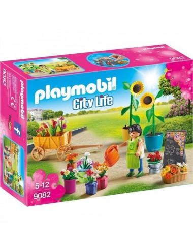 Tienda De Flores Playmobil 9082